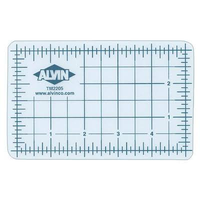 "Alvin Translucent Professional Self-Healing Cutting Mat - 18"" x 24"""