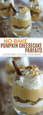 Easy Pumpkin Desserts by No Bake Pumpkin Cheesecake Parfaits The Real Food Dietitians