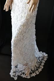 lim u0027s gorgeous all hand made crochet maxi dress dx white m one
