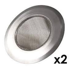4 3 8 mesh sink strainer 2 pieces amazon com