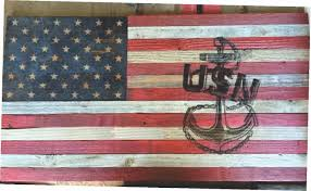 Custom Made Rustic Distressed American Flag