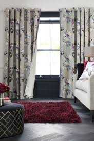 Plum And Bow Curtains Uk by Buy Plum Delicate Floral Print Eyelet Curtains From The Next Uk