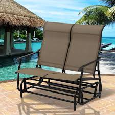 Costway: Costway 2 Person Patio Glider Rocking Bench Double Chair ... Amazoncom Merax Dualpurpose Patio Love Seat Deck Pine Wood X Rocker Dual Commander Gaming Chair Available In Multiple Colors 10 Best Outdoor Seating The Ipdent Presyo Ng Purpose Rocking Horse Children039s Modway Canoo Reviews Wayfair Microfiber Massage Recliner Lazy Boy Living Room Power Recling Leather Loveseat Deep Charcoal Horse Zjing Dualuse Music Trojan Child Baby Mulfunctional Wisdom Health
