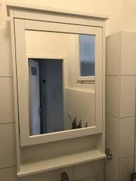 ikea hemnes badezimmer spiegelschrank 63x16x98cm