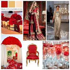 COLOR BOARD RED GOLD CHAMPAGNE