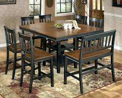 7 Piece Round Dining Table Set 9 For 8 Counter Height Room Sets