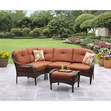 Outdoor Sectional Sofa Walmart by Better Homes And Gardens Azalea Ridge 5 Piece Outdoor Sectional