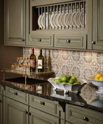 Backsplash Ideas For Green Cabinets Queen