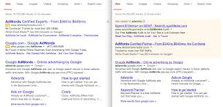 Google s New Look Search Results Still An Experiment