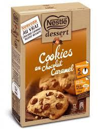 nestlé dessert préparation pour cookies aux pépites de chocolat