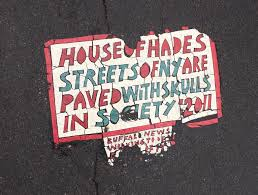toynbee tile in rochester on the corner of east scio eggwork