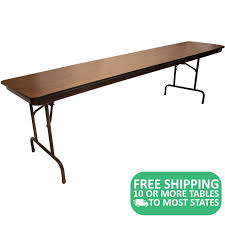 5-pack: Advantage 8' High Pressure Laminate Folding Banquet Tables ... Poupard Tent Rental Monroe Mi Party Graduation Lifetime 8 Foldinhalf Table Almond 80175 Walmartcom Fniture Tremendous Folding Tables Walmart For Alluring Home 244x76cm Chair Galds_244_8kresli Foot Fresh Pnic Solid Wood Ding Room Lovely Kitchen Chairs Elegant 13 Best Of How Many At Pics Mvfdesigncom Antrader 24pcs Round Shape Pvc Rubber Covers Soldedwardian Period Foot Mahogany Riley Snooker Ding Table Foot Italian Marquetry Queen Anne Syo 4 Leg