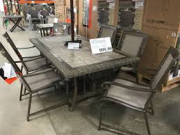 AGIO INTERNATIONAL 7 Piece Patio Dining Set At COSTCO $999 | Union ... Agio Majorca Outdoor Sling Swivel Rocker With Inserted Woven Trenton Deep Seat Lounge Chair Westrich Fniture Mhattan 2016 Cast Header Ding By At Johnny Janosik Glider Somerset 7piece Alinum Rectangular Set 2 Swivels And Casttop Table San Tropez 5piece Round Clear Creek Collection Aurora Fire Pit In Brown Wicker Dectable Lush Tall Patio Chairs Folding Rocking Costco Roundup My Whosale Life Peg Perego Siesta High Black Clement