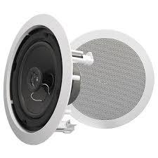 Klipsch Angled Ceiling Speakers by 8 Best In Ceiling Speakers To Buy In 2018 Household Audio