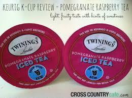Pumpkin Spice Keurig Nutrition by Keurig K Cup Review Pomegranate Raspberry Tea