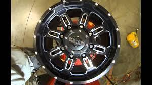 100 Gear Truck Wheels Alloy 725 Black Machined YouTube