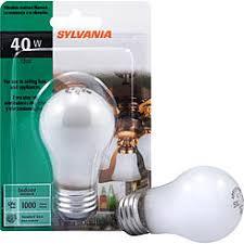 sylvania 40w appliance bulb light bulbs