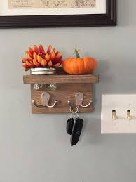 Decorative Key Rack For Wall by Small Key Holder Fall Decor Apartment Decor Small Key Hook