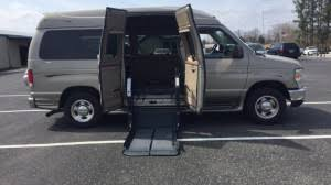 Used Wheelchair Van For Sale 2014 Ford E 150 Accessible