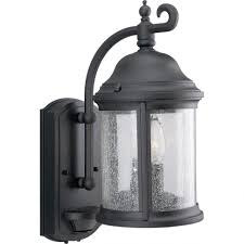 lights outdoor wall mount porch lights bay mission style black