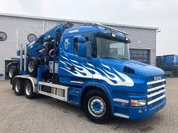 SCANIA T420 Manual Retarder Euro-4 Holztransport 2006 Timber Trucks ...