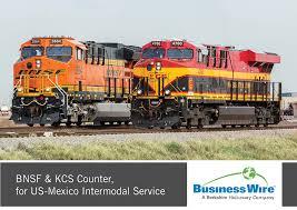100 Intermodal Trucking Companies BNSF KCS Counter For USMexico Service Lee
