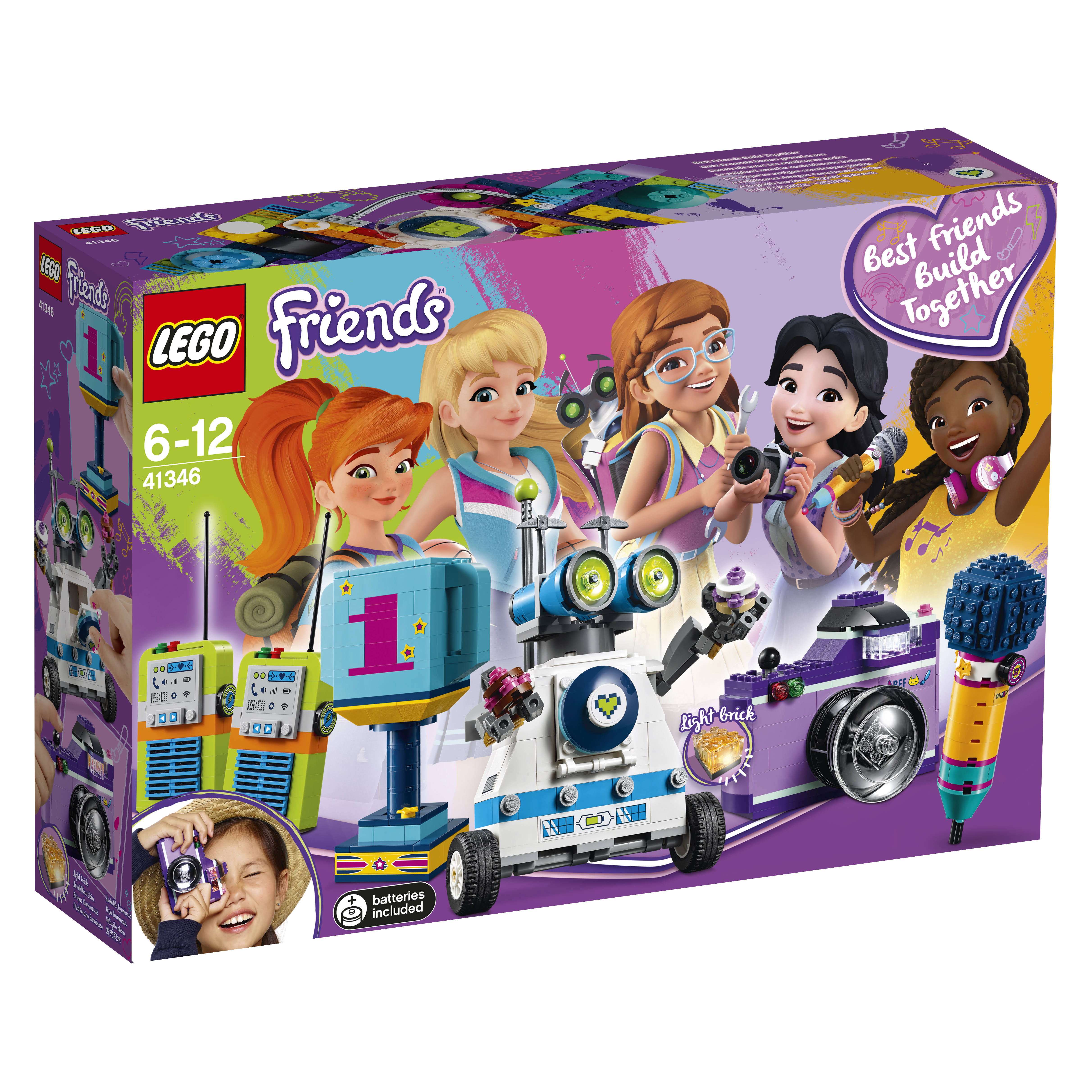 Lego Friends Friendship Box, Mic Camera Trophy Set