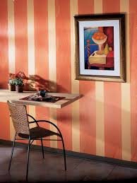 CI Sherwin Williams Orange Striped Wall S3x4