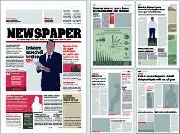 Newspaper Layout Design Download