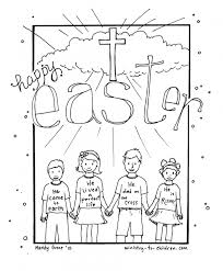 Download Coloring Pages Religious Easter