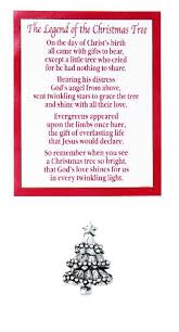 Legend Of The Christmas Tree Printable