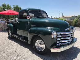 100 Classic Chevrolet Trucks For Sale 1950 Pickup AllSteel Original Restored Truck For Sale