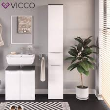 hochschrank vicco badezimmerschrank otis unterschrank