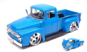 100 Ford Toy Trucks JADA TOYS JADA99044 FORD F100 PICK UP 1956 BLUE JUST