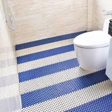 Mosaic Bathroom Floor Mats Non Slip Toilet Mat Impermeable Pad Shower Hydrophobic Plastic Waterproof In Bath From Home Garden On Aliexpress