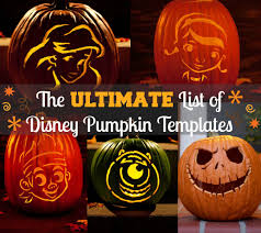 Tinkerbell Pumpkin Carving Stencils Free by Free Disney Pumpkin Carving Templates