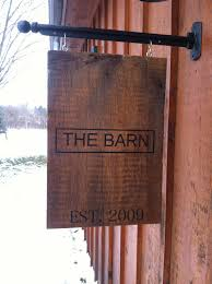 Personalized Sign Hanging From Metal Post. Painted On Barn Wood ... Wall Decor Modern Barn Stars Metal Hover Word Signs Charming Best 25 Rustic Barn Homes Ideas On Pinterest Houses Farm Beautiful Signs Maple Lane Unique Red Creations Business Custom All To Your By Alabama Art Sign Decor Ranch Cowboy Ranch No Solicitors Sign For Front Door Gun Metal In Michigan Triple J Ductwork Horse Wood Welcome This Oneofakind Wall