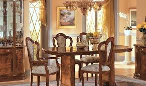 Italian Dining Room Sets Milady Walnut Classic Table Set Made In For Sale Furniture Ebay