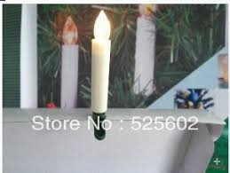 Get Quotations 2014XMAS10 Pcs Remote Control Electronic LED Candle Christmas Tree