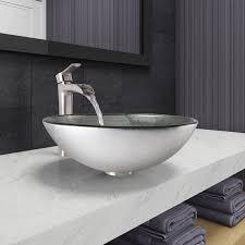 Silver Vessel Sink Home Depot by Best 25 Glass Vessel Sinks Ideas On Pinterest Glass Vessel