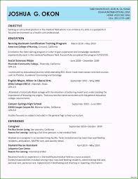 Caregiver Resume Sample For Elderly Recommended Cna ...