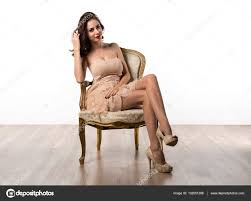 Beautiful Young Model Woman Posing In Studio On Vintage Armchair ... Young Beautiful Woman Reading A Book In White Armchair Stock 1960s Woman Plopped Down In Armchair With Shoes Kicked Off Tired Woman In Armchair Photo Getty Images With Fashion Hairstyle And Red Sensual Smoking Black Image Bigstock Beautiful Business Sitting On 5265941 And Antique Picture 70th Birthday Cake Close Up Of Topp Flickr Using Laptop Royalty Free Pablo Picasso La Femme Au Fauteuil No 2 Nude Red 1932 Tate Sexy Sits 52786312