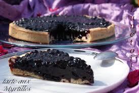 tarte aux myrtilles amour de cuisine
