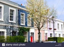 100 Notting Hill Houses Colourful Houses On Portobello Road London England
