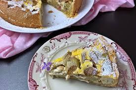rhabarber rahmkuchen erfrischend lecker backen mit