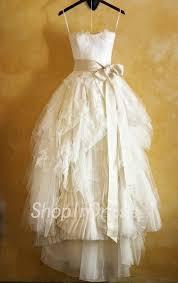 2014 Wedding DressLace DressA Line DressHigh Low DressTea Length DressGarden Dress WD1801