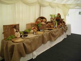Burlap Dessert Lace And Beautiful Rustic Wedding Party Table Ideas Fascinating Decoration
