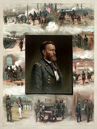 Of Ulysses S Grant Leading Up To The Civil War Clockwise From Lower Left Graduated At West Point 1843 Chapultepec 1847 Drilling His Volunteers