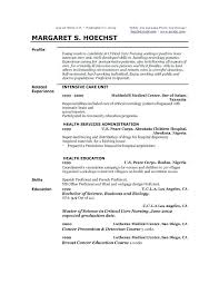 Profile Resume Samples Professional Example Examples For Human