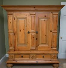 Baker Breakfront China Cabinet by Baker Milling Road Pine Entertainment Cabinet Ebth
